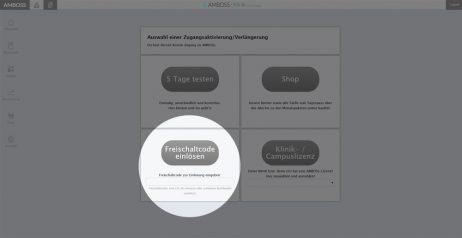 AMBOSS Freischaltcode